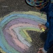 sand rainbow